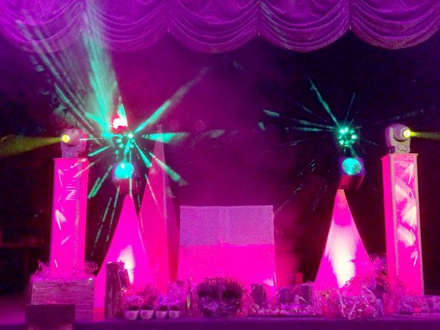 Die perfekte Lichtanlage für Ihre Hochzeit