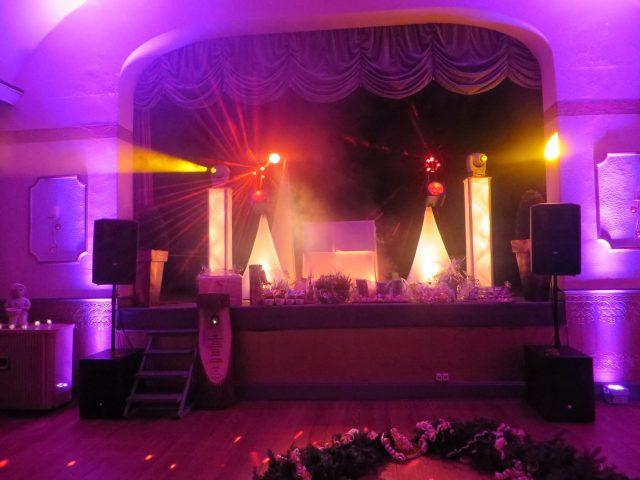 Die perfekte Ambiente-Beleuchtung für Ihre Hochzeit